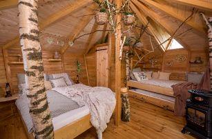 Romantický pobyt v Treehousu