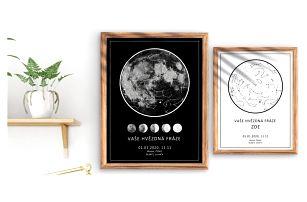 Hvězdné mapy vašich důležitých životních okamžiků