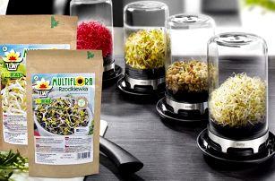 Skleněné nakličovadlo a 5 druhů semen k pěstování