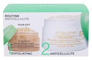 Collistar Special Perfect Body Anticellulite Draining Gel-Mud dárková kazeta pro ženy tělový gel 400 ml + tělový peeling Anti-Water Talasso-Scrub 150 g
