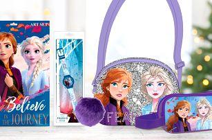 Frozen II: omalovánky, kabelka, pouzdro i hodinky