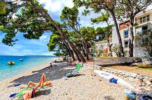 Chorvatsko, Živogošče | Pension Mala Duba – přímo u moře | Dítě zdarma