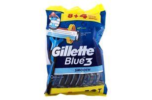 Gillette Blue3 Smooth 12 ks jednorázová holítka pro muže
