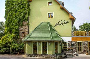Chomutov v přírodě a nedaleko centra: Hotel Forrest *** s privátním wellness, relaxační masáží a polopenzí
