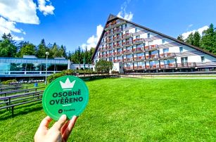 Vysočina u CHKO Žďárske vrchy a cyklotras v Hotelu SKI *** s wellness (bazén, vířivka), polopenzí a slevami