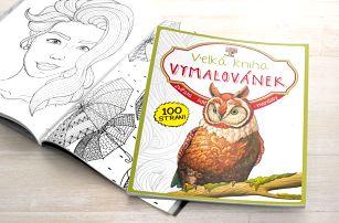 Vymalujte ze sebe stres: Dvě Velké knihy Vymalovánek