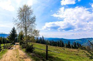 Od jara do zimy v Chatě Barborka v Horní Bečvě s polopenzí u Stezky v korunách stromů