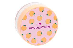 Makeup Revolution London I Heart Revolution Loose Baking Powder 22 g jemný pudr pro zmatnění a fixaci make-upu pro ženy Peach