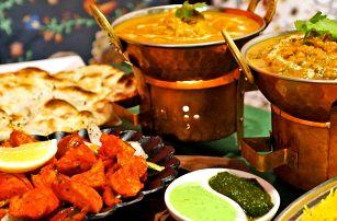 Lahodné indické menu: vegetariánské či masové
