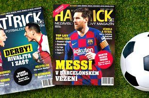 Předplatné fotbalového časopisu Hattrick s bonusy