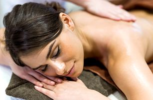 30 a 60 min.: masáž dle vlastního výběru