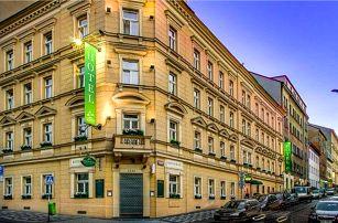Praha v centru u hlavního nádraží v Hotelu U Tří korunek **** se snídaněmi a překvapením + dítě zdarma
