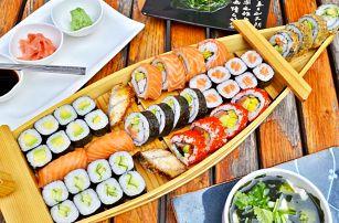 Sushi sety s sebou: 6 verzí o obsahu 24–81 kousků