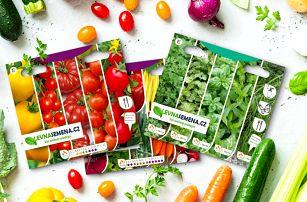 Balíčky semínek pro milovníky zahradničení