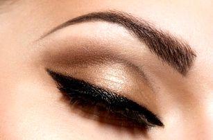 Permanentní make-up horních či dolních očních linek