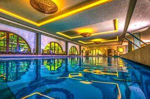 Budapešť: Víkend v oceněném Hotelu Stáció **** s wellness o rozloze 1 000 m² + polopenze a dítě zdarma