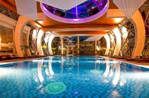 Sárvár: Spirit Hotel Thermal Spa ***** s neomezeným termálním wellness s 22 bazény + Saunový svět a polopenze