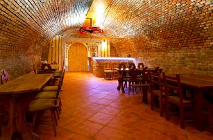 Penzion na jihu Moravy s polopenzí a degustací vín