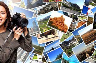 Vyvolání 60–100 fotografií: 6 rozměrů, lesk či mat