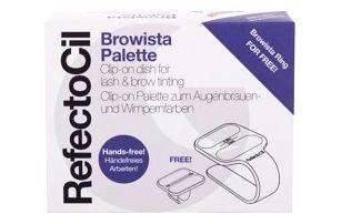 RefectoCil Browista Palette 2 ks paletky na ruku pro míchání barev na řasy a obočí pro ženy