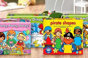 Vzdělávací hry Orchard Toys pro děti od 2 let