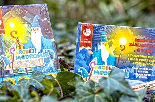 Kouzelná karetní hra Čaroděj Modromír a audiokniha