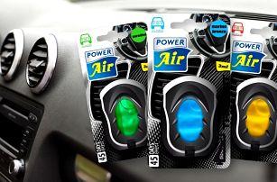 Balíček osvěžovačů do auta: 4 příjemné vůně