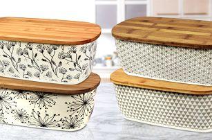 Chlebníky z bambusového a kukuřičného vlákna