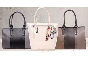 Elegantní dámské kabelky David Jones ve 2 stylech