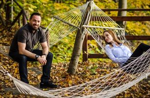 Relax ve skandinávském přírodním wellness s ubytováním pro dva