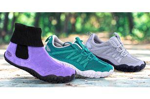 Ucítíte každý krok: dámské i unisex barefoot boty
