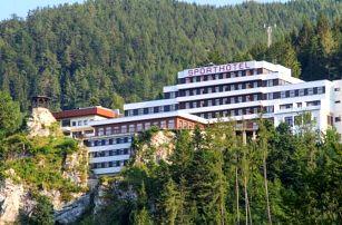 Krásné Vídeňské Alpy ve Sporthotelu am Semmering *** s bazénem, infra kabinou a polopenzí + děti zdarma