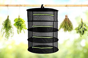Praktická síť pro sušení bylinek, hub či koření: 3 velikosti