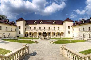 Luxusní relaxace na zámku – wellness pobyt v Chateau Kynšperk - dlouhá platnost poukazu