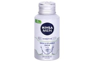 Nivea Men Sensitive Skin & Stubble 125 ml zklidňující balzám na citlivou pleť a strniště pro muže
