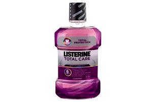 Listerine Mouthwash Total Care Clean Mint 1000 ml ústní voda pro svěží dech unisex