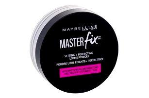 Maybelline Master Fix 6 g matující fixační pudr pro ženy Translucent