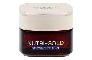 L´Oréal Paris Nutri-Gold 50 ml noční vyživující a zpevňující krém pro ženy