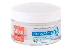 Mixa Hyalurogel Light 50 ml hydratační krém pro citlivou pleť pro ženy