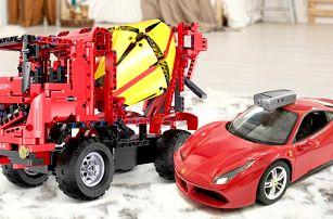 Ferrari nebo míchačka na dálkové ovládání
