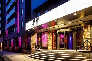 Moderní hotel v pražském Karlíně: snídaně i polopenze
