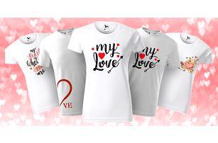 Dámská i pánská zamilovaná trička: 7 variant