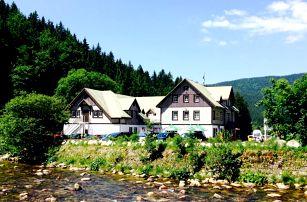 Dovolená v centru Špindlu s polopenzí a wellness