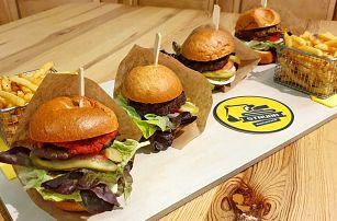 4× jiná chuť: burgerové degustační menu s hranolky