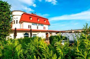 Jižní Morava u Znojma v Hotelu Styria *** s polopenzí a neomezeným vstupem do bazénu + dítě do 6 let zdarma