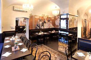 Vouchery na jídlo i pití v restauraci na Starém Městě