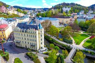 Karlovy Vary v Pavlov Spa Hotelu s rozšířenou polopenzí, vstupem do Alžbětiných lázní i sauny + procedury