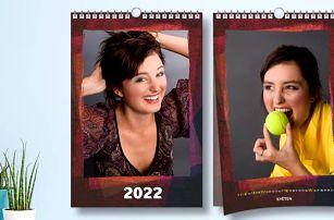 Nástěnný měsíční fotokalendář ve formátu A3