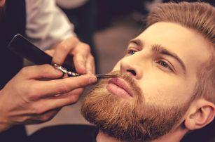 Barber péče: precizní střih, úprava vousů i masáž