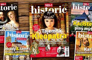 Časopis 100+1 historie: kompletní ročník 2021